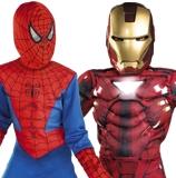 Superhero and Villains