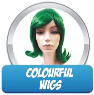 Bright Coloured Wigs