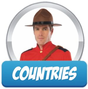 Countries Hats