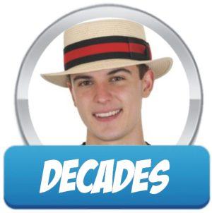Decades Hats