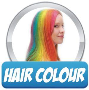 Hair Colour Makeup